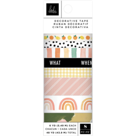 Heidi Swapp Storyline Chapters Washi Tape Rolls 8/Pkg 6 Yards Each