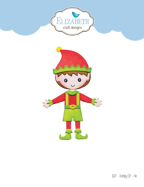 Elizabeth Craft Designs Holiday Elf - His 1827