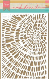 Marianne D Stencil Tiny's Sliced Wood PS8040