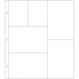 Project Life Photo Pocket Pages 12/Pkg Design G