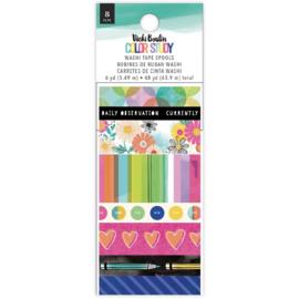 Vicki Boutin Color Study Washi Tape 8/Pkg