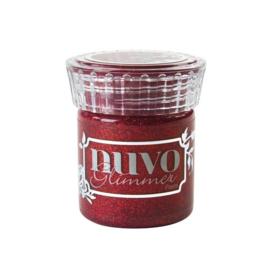 Nuvo glimmer paste - garnet red 954N