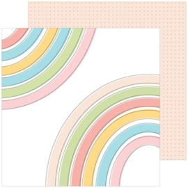"Pinkfresh Studio My Favorite Story Double-Sided Cardstock 12""X12"" Joyful"
