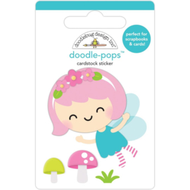 Doodlebug Doodle-Pops 3D Stickers Pixie