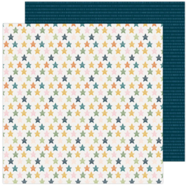 """Paige Evans Bungalow Lane Double-Sided Cardstock 12""""X12"""" #10"""