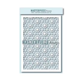 "MPdesign – A5 stencil – ""Geo Met"""