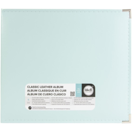 "We R Classic Leather D-Ring Album 12""X12"" Mint"