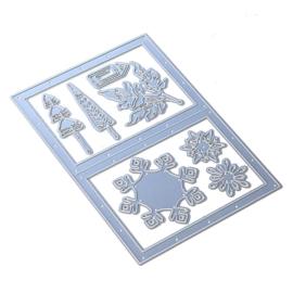 Elizabeth Craft Designs Snowy Windows 1825