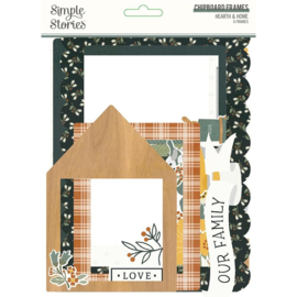 Simple Stories Hearth & Home Chipboard Frames preorder