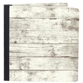 "Simple Stories Sn@p! Flipbook 6""X8"" Whitewashed Wood"