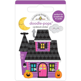 Doodlebug Doodle-Pops 3D Stickers Happy Haunting preorder