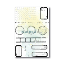 MP Design Clearstamps 4×6″ – Label mania