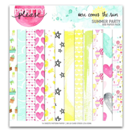 Pretty Little Studio Paper Pack | Summer Party 8x8