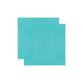 """Simple Stories Color Vibe Double-Sided Cardstock 12""""X12"""" Teal Brights"""