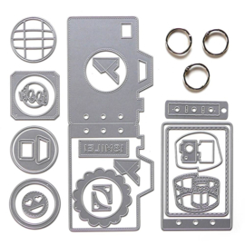Elizabeth Craft Designs Camera Insert Kit K001