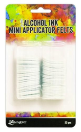 Ranger Alcohol Ink Mini Appicator replacement felt 50st TAC62165 Tim Holtz