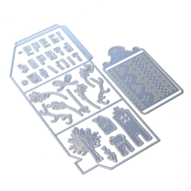 Elizabeth Craft Designs set van 6 stansen