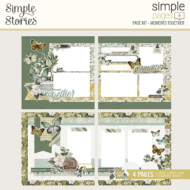 Simple Stories Simple Pages Page Kit Moments Together, Weathered Garden preorder