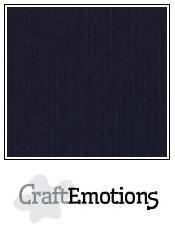 CraftEmotions linnenkarton 10 vel zwart 30,0x30,0cm