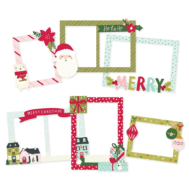 Simple Stories Holly Days Chipboard Frames