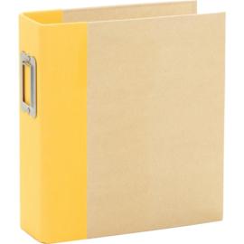 "Simple Stories Sn@p! Binder 6""X8"" Yellow"
