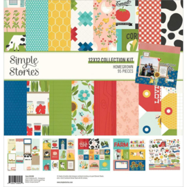 """Simple Stories Collection Kit 12""""X12"""" Homegrown preorder"""