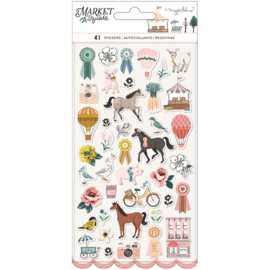 Maggie Holmes Market Square Puffy Stickers 41/Pkg preorder