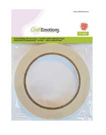 CraftEmotions Dubbelzijdig klevend tape 6mm 20mt