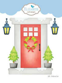 Elizabeth Craft Designs Christmas Door 1689