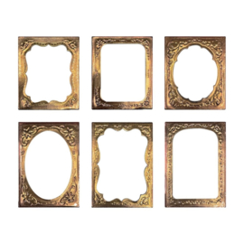 Tim Holtz Idea-ology Curio Frames (6pcs) (TH94136)