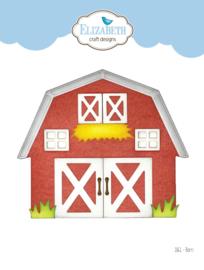 Elizabeth Craft Designs Barn 1861