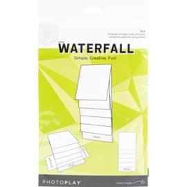 "PhotoPlay Maker Series 4""X4"" Mechanical White Waterfall"