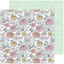 "Pinkfresh Studio My Favorite Story Double-Sided Cardstock 12""X12"" Bloom & Grow"