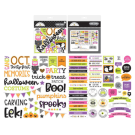 Doodlebug Odds & Ends Chit Chat Die-Cuts Happy Haunting preorder