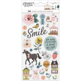 Maggie Holmes Market Square Sticker Book Gold Foil Accents 258/Pkg preorder