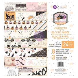 """Prima Marketing Double-Sided Paper Pad 12""""X12"""" 24/Pkg Thirty-One, 8 Designs/3 Each"""