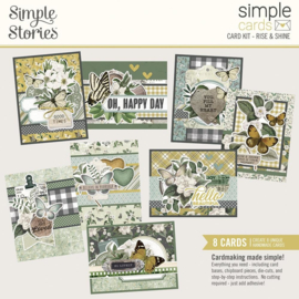 Simple Stories Simple Cards Card Kit Rise & Shine, Weathered Garden preorder