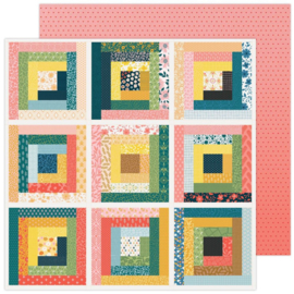 """Paige Evans Bungalow Lane Double-Sided Cardstock 12""""X12""""  #1"""