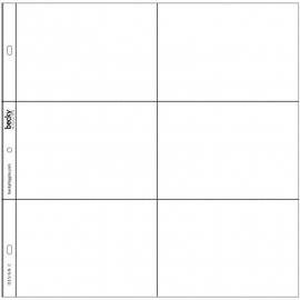 Project Life Photo Pocket Pages 12/Pkg Design C