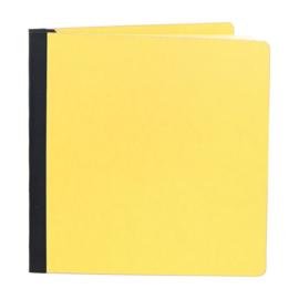 "Simple Stories Sn@p! Flipbook 6""X8"" Yellow"