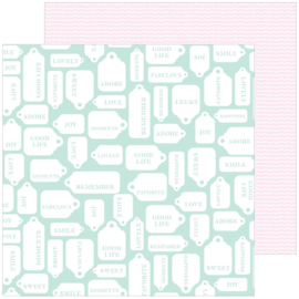 "Pinkfresh Studio My Favorite Story Double-Sided Cardstock 12""X12"" Good Life"