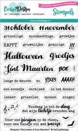 Carlijn Design Stempels Halloween & Sint Maarten