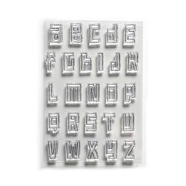 Elizabeth Craft Designs Block Alphabet CS178