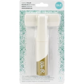 We R Memory Keepers Clean Up Roller White & Gold