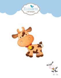 Elizabeth Craft Designs Cow 1855