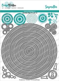 CarlijnDesign Snijmallen Cirkels (CDSN-0122)