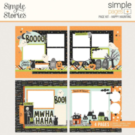 Simple Stories Simple Pages Page Kit Happy Haunting, Spooky Nights preorder