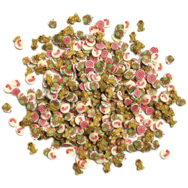 Buttons Galore Sprinkletz Embellishments 12g Sugar & Spice