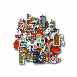"""MPdesign Die-cuts – Sinterklaas – """"Figures"""""""