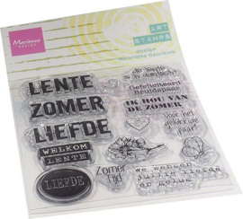 Marianne D Clear Stamps Art stamps - zomertijd (NL) MM1638